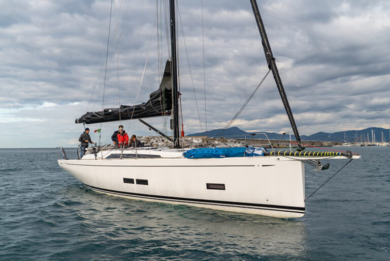 GS 44 Performance, sea trial in Lavagna