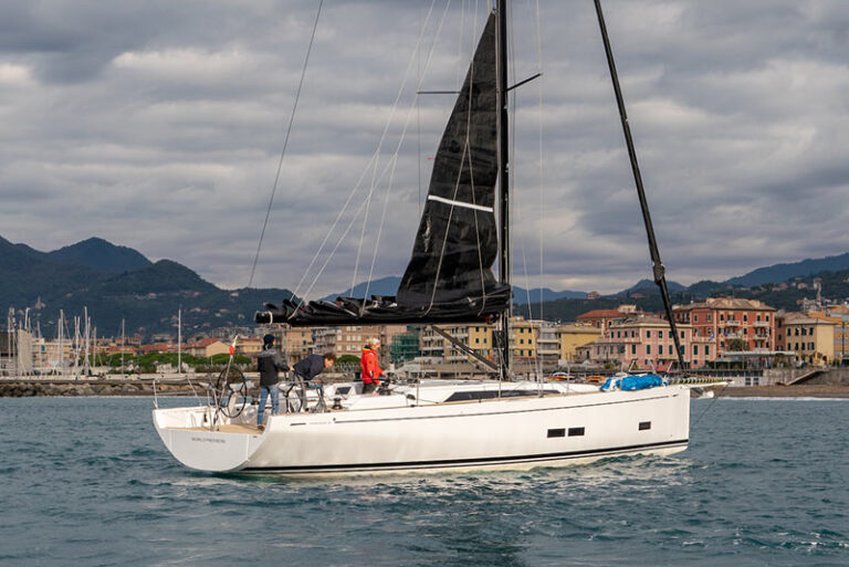 GS 44 Performance sea trial, port of Lavagna
