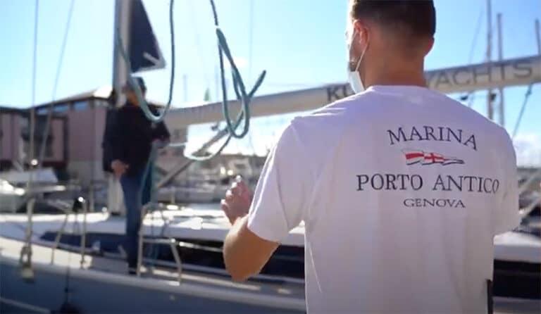 Marina Porto Antico video services