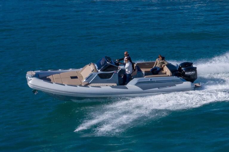 Ranieri Cayman 28.0 Executive sea trial