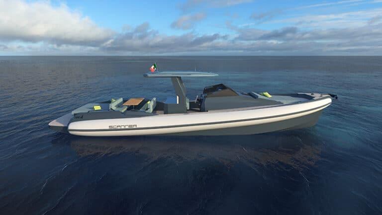 Scanner Envy 1200 starboard side