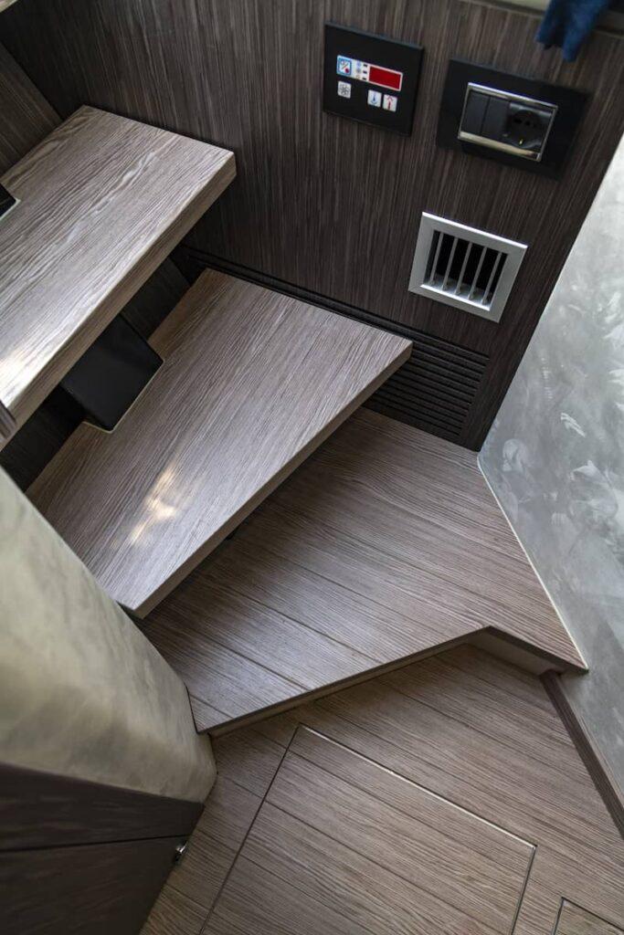 Sessa Key Largo 40 staircase