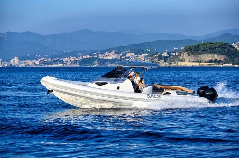 sacs strider 11 limousine, sea trial