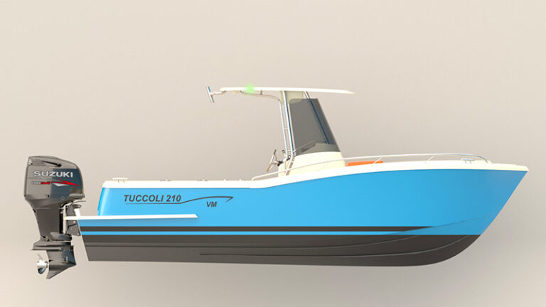 tuccoli t210vm starboard size