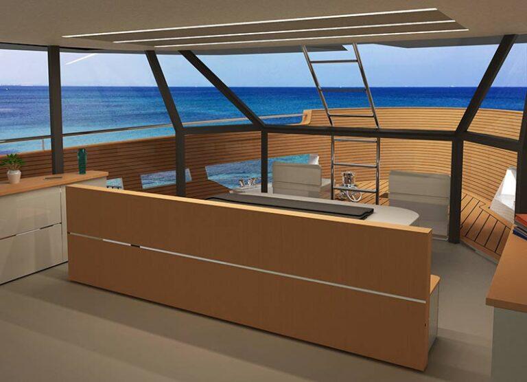 Futura 101 Hybrid cabin