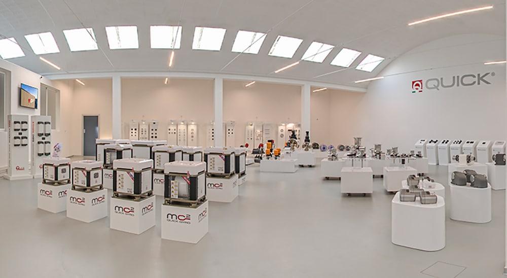 Quick virtual showroom