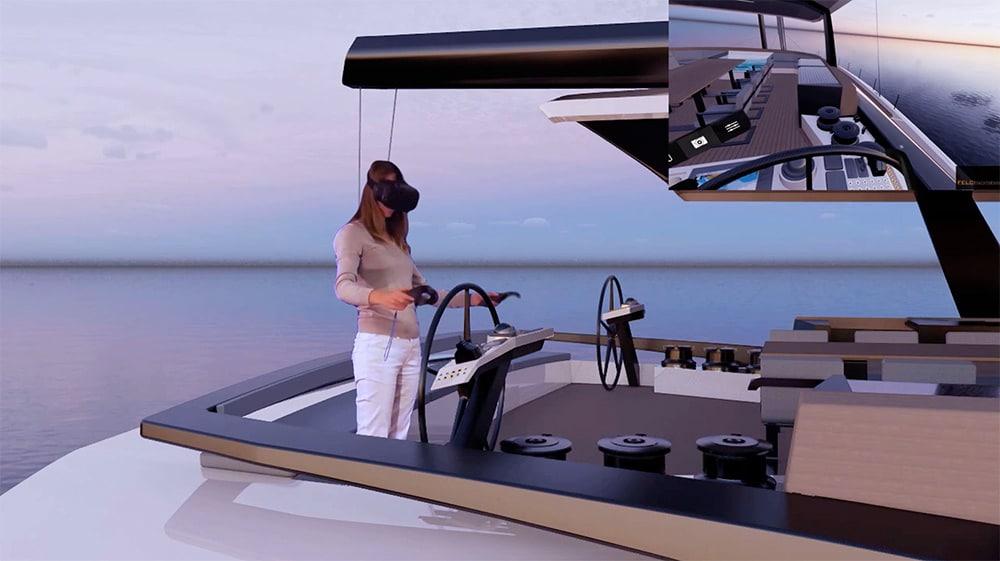 Felci virtual reality