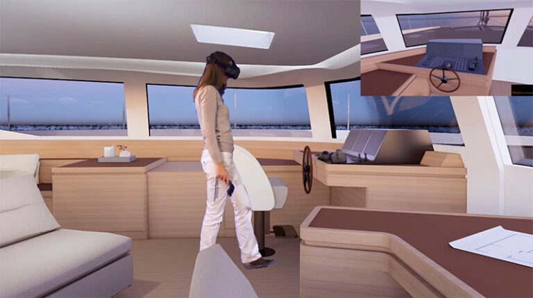 Felci virtual reality console