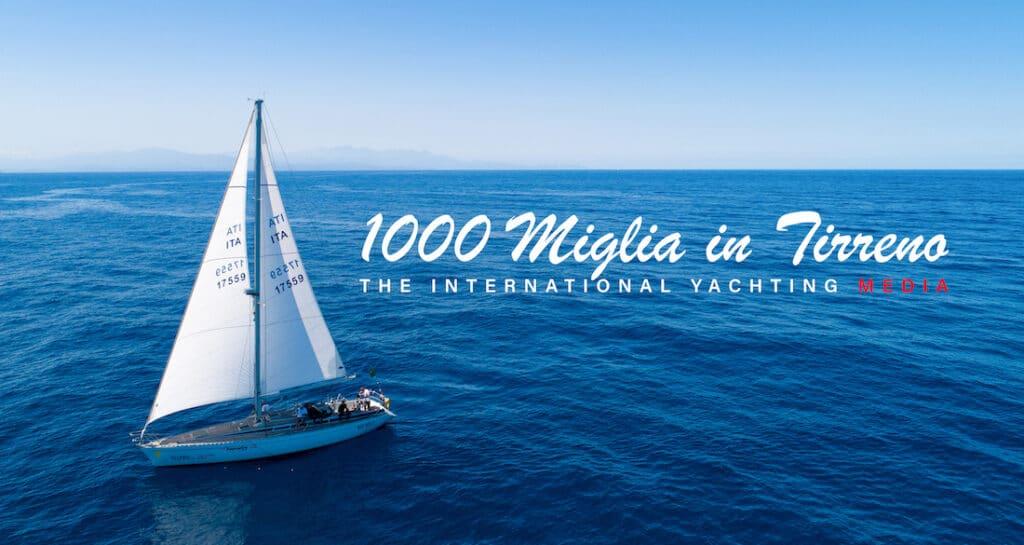 1,000 miles in the Tyrrhenian Sea