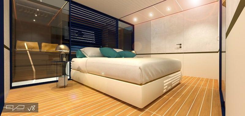 EVO V8 master cabin