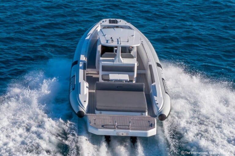 Pirelli 35 by TecnoRib Sea trial