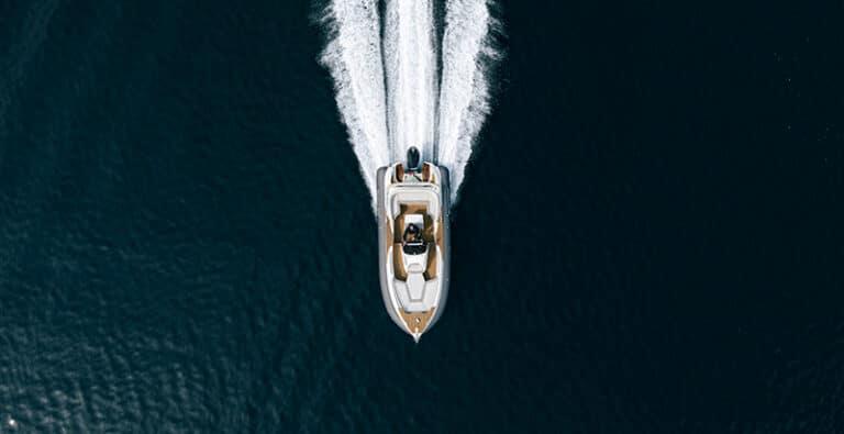Scanner Envy 770 top view sea trial