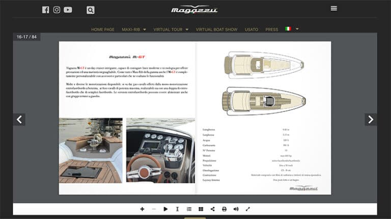 magazzù new website digital book