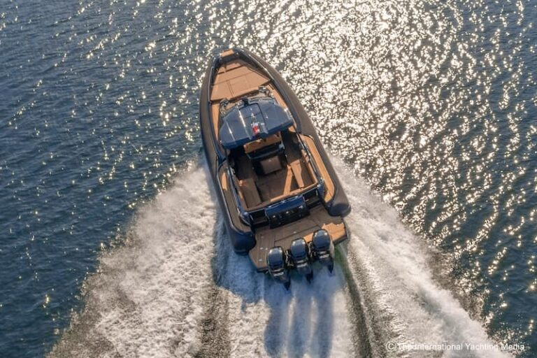 speed at sea