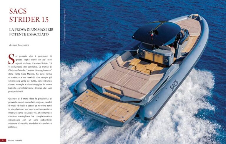 yacht digest sacs strider 15
