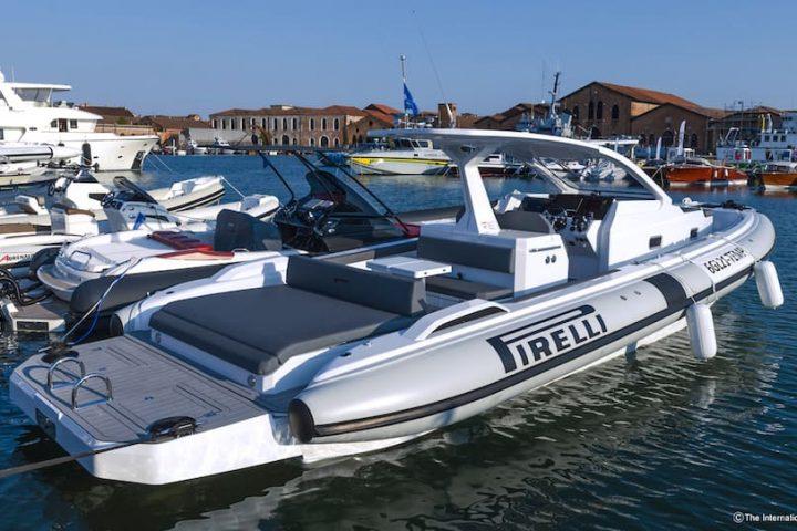 Tecnorib Pirelli 35 Venice Boat Show