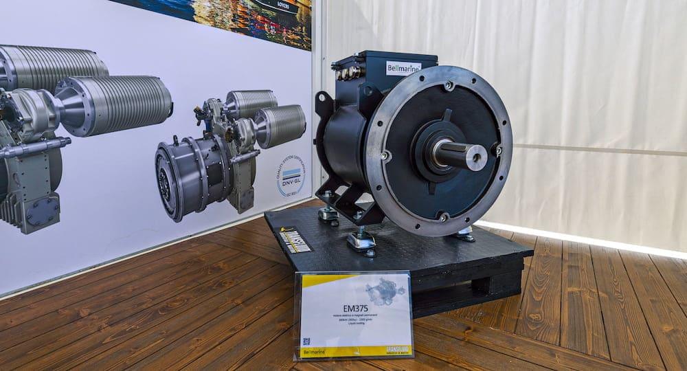 new EM35 electric motor