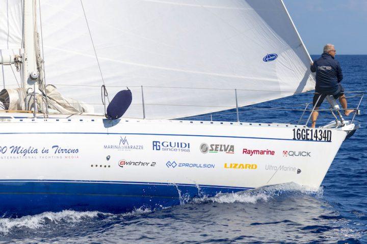 1000 miles in the Tyrrhenian Sea Daydreamer logbook