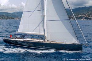 Ice 70 under sail