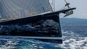 sea trial bow