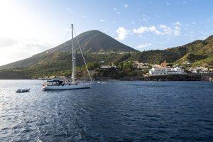 1,000 miles in the Tyrrhenian Sea Vulcano