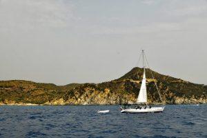 1,000 miles in the Tyrrhenian Sea Capo Carbonara
