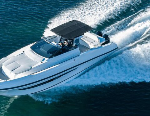 Daytona 34 Sea trial