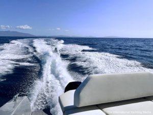 sea trial wake