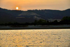 sunset at Muras beach
