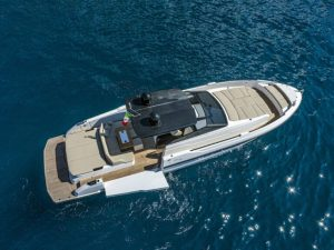 yacht top view